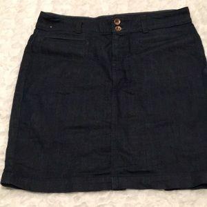 Banana Republic 29 Petite Jean skirt